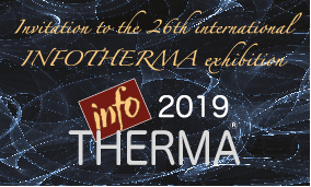 Invitation to the 26th international INFOTHERMA exhibition